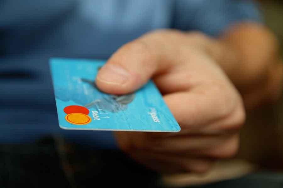Paiement avec un carte bleue en ligne